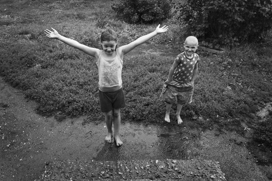 Lietui lyjant. © Tadas Kazakevičius © Darius Chmieliauskas