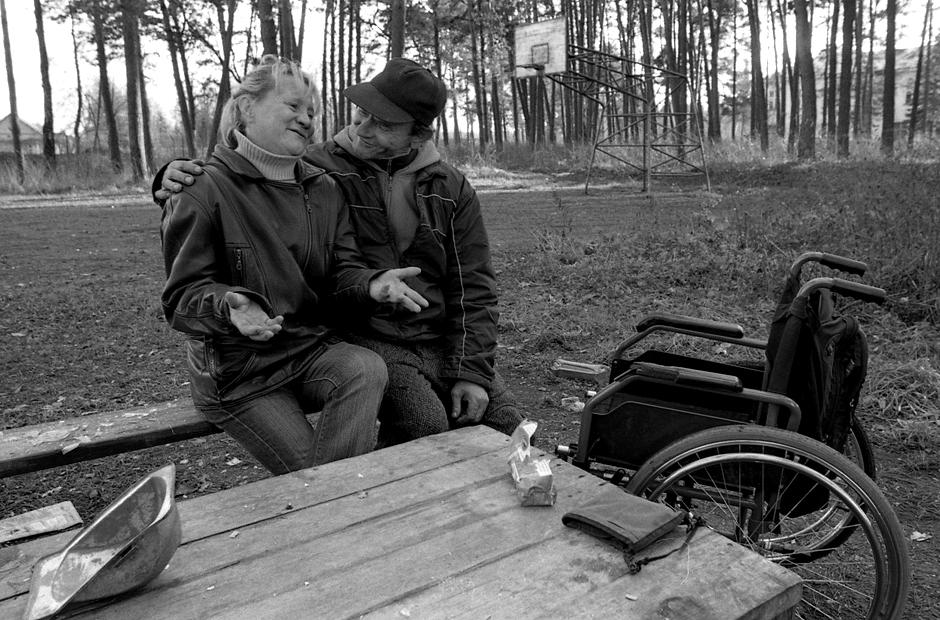 Su draugais netoli stovyklos. © Darius Chmieliauskas