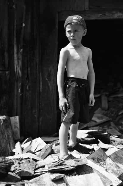 Matas užaugęs norėtų būti ūkininku. © Ieva Budzeikaitė