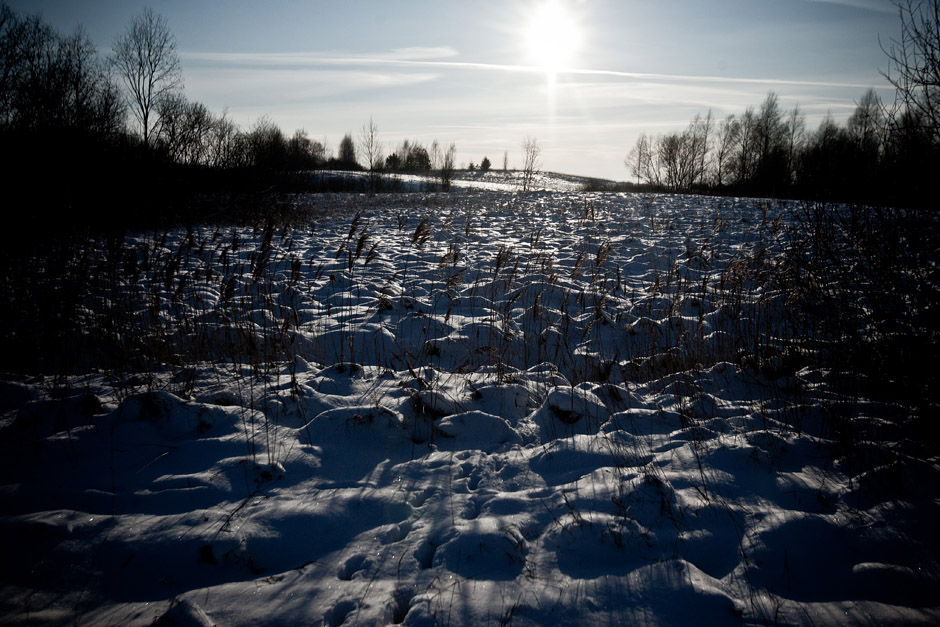 Vakaras. Lauke dar šąla. Žiemos metu Regina ir jos šeima mėsos atsargų nepritrūks. © Vladimiras Ivanovas