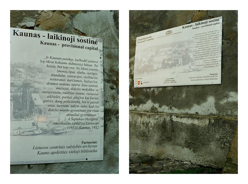 Istorija ant istorinės sienos. © Robertas Kanys