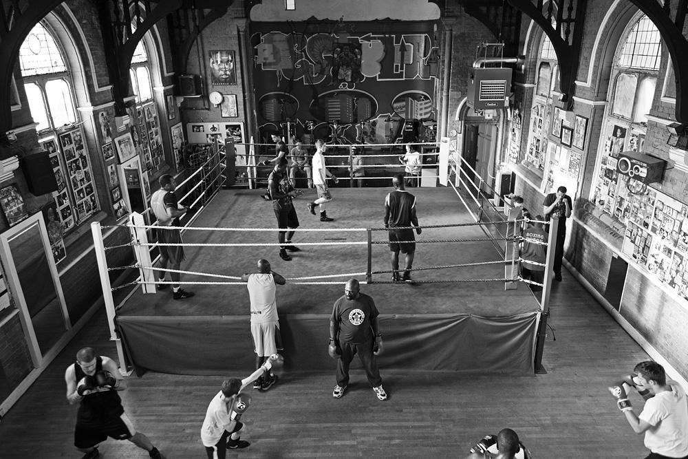 All Stars bokso klubo patalpos. © Tadas Kazakevičius