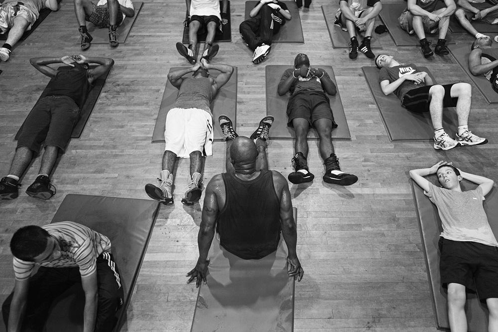 Įtemptų ištvermės treniruočių atokvėpio sekundę. © Tadas Kazakevičius