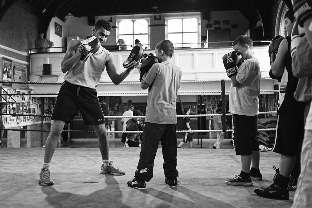 Jaunasis treneris Amid moko vaikus pagrindų. © Tadas Kazakevičius