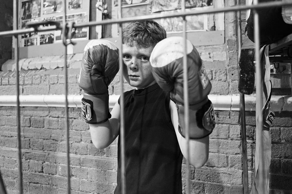 Mažieji bokso entuziastai. © Tadas Kazakevičius