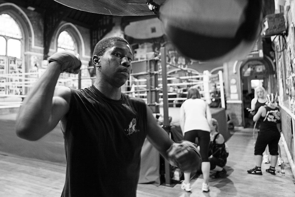 Jordan antvėsinėja po treniruotės prie kriaušės. © Tadas Kazakevičius