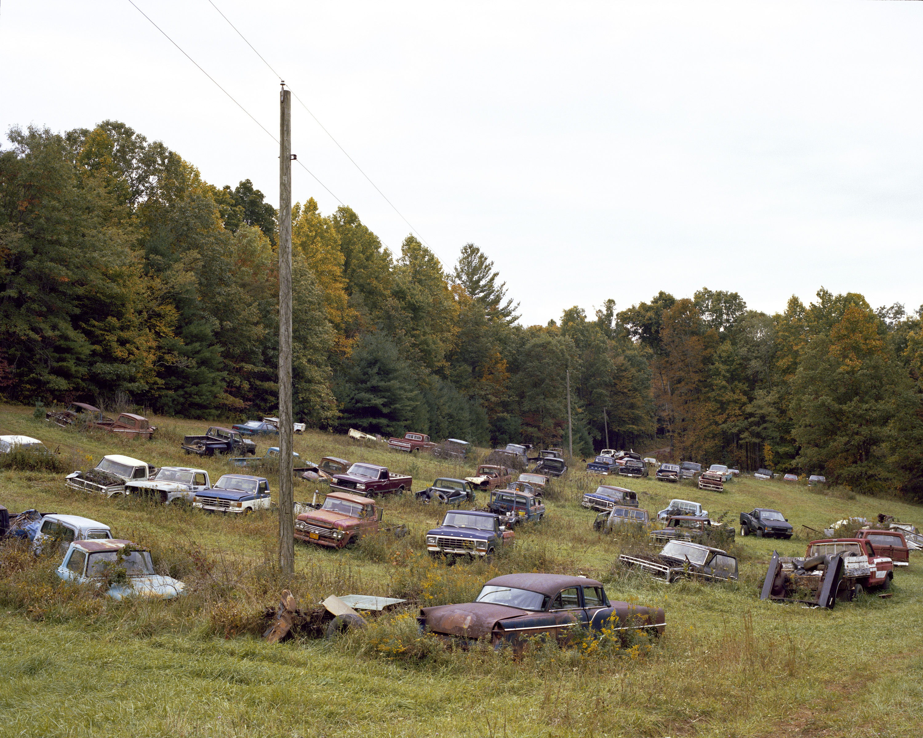 Dusty mile vintage car scrapyard (3)