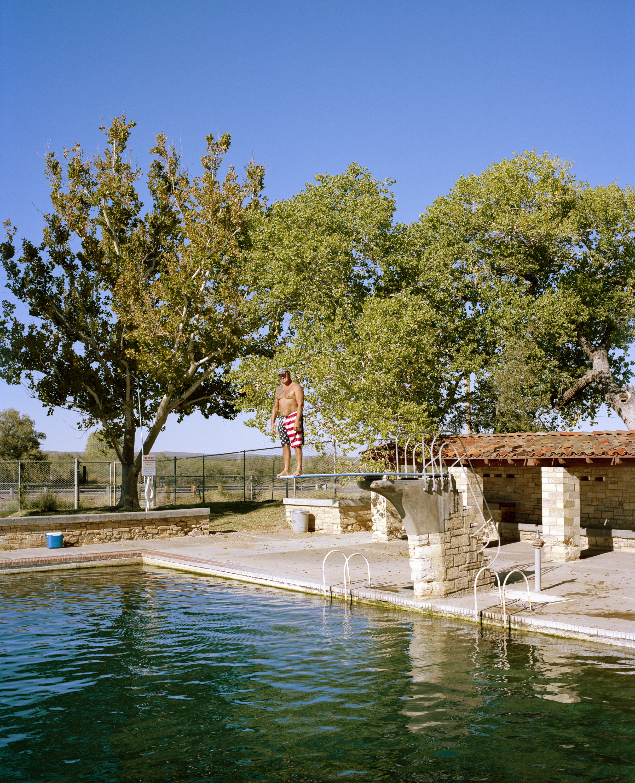 Tim Quantrell, Balmorhea state park pool