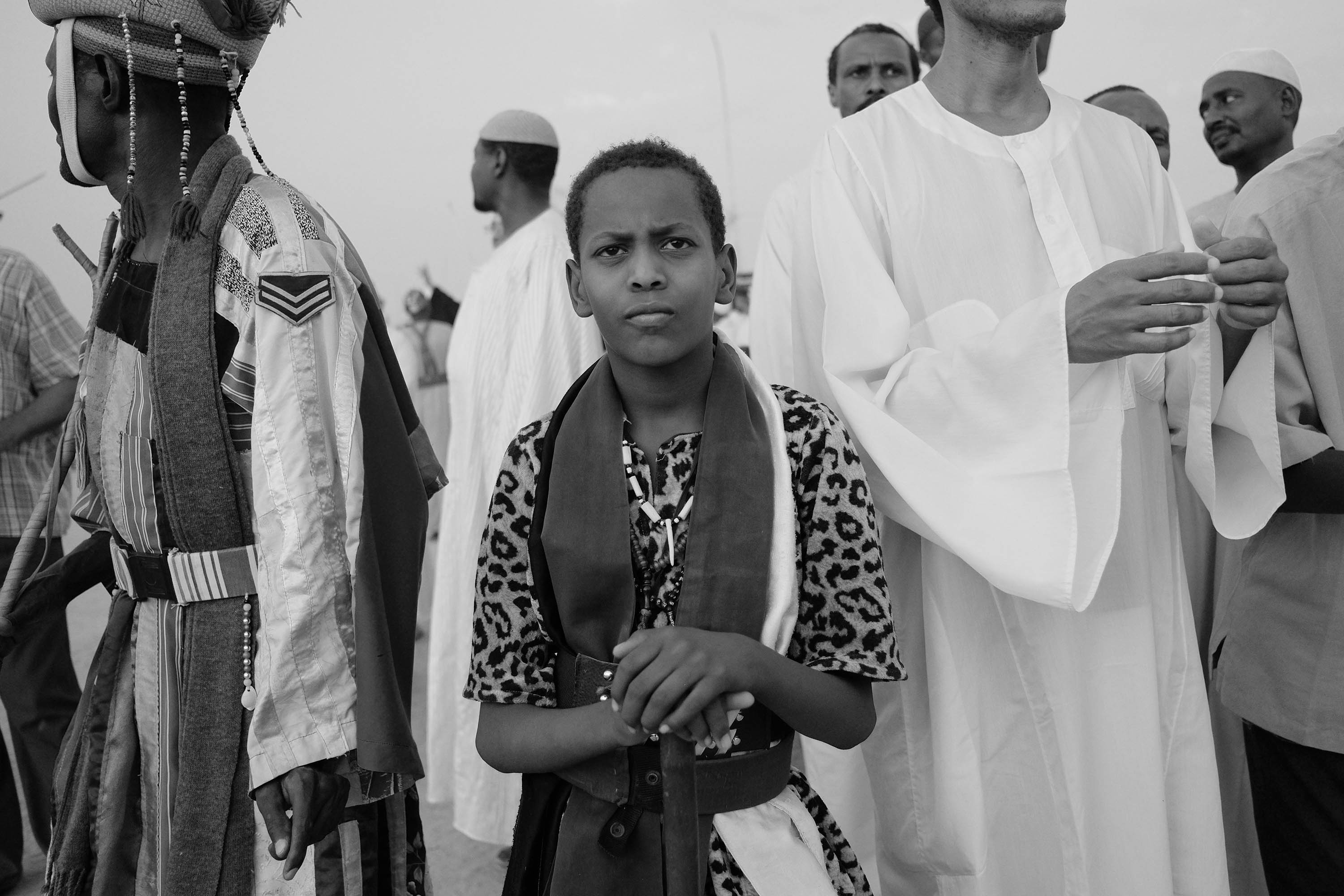 06. Portrait of a young Sufi devotee participating in ''Zikr''. Omdurman. Sudan. 2017