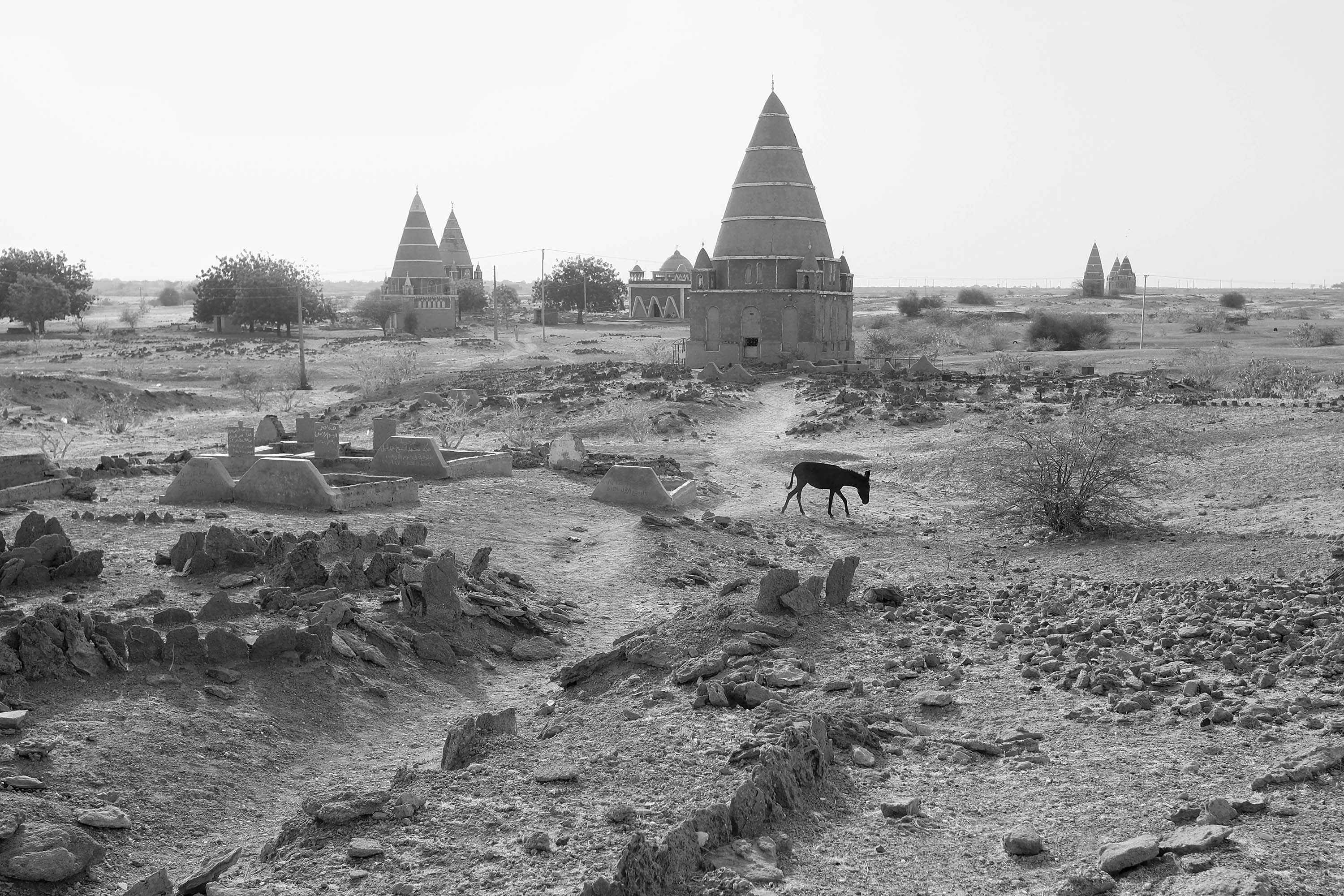 14. Sufi tombs near the village of Abu Haraz - one of the most important religious sites of Sufism in Sudan. 2017