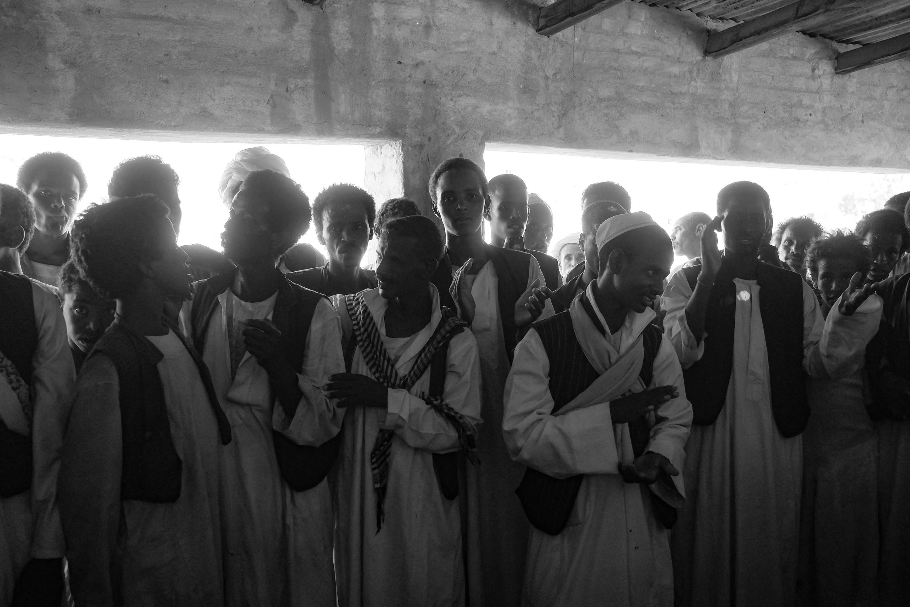 21. Worshipers sing traditional Sufi songs. Kasalla. Sudan. 2017
