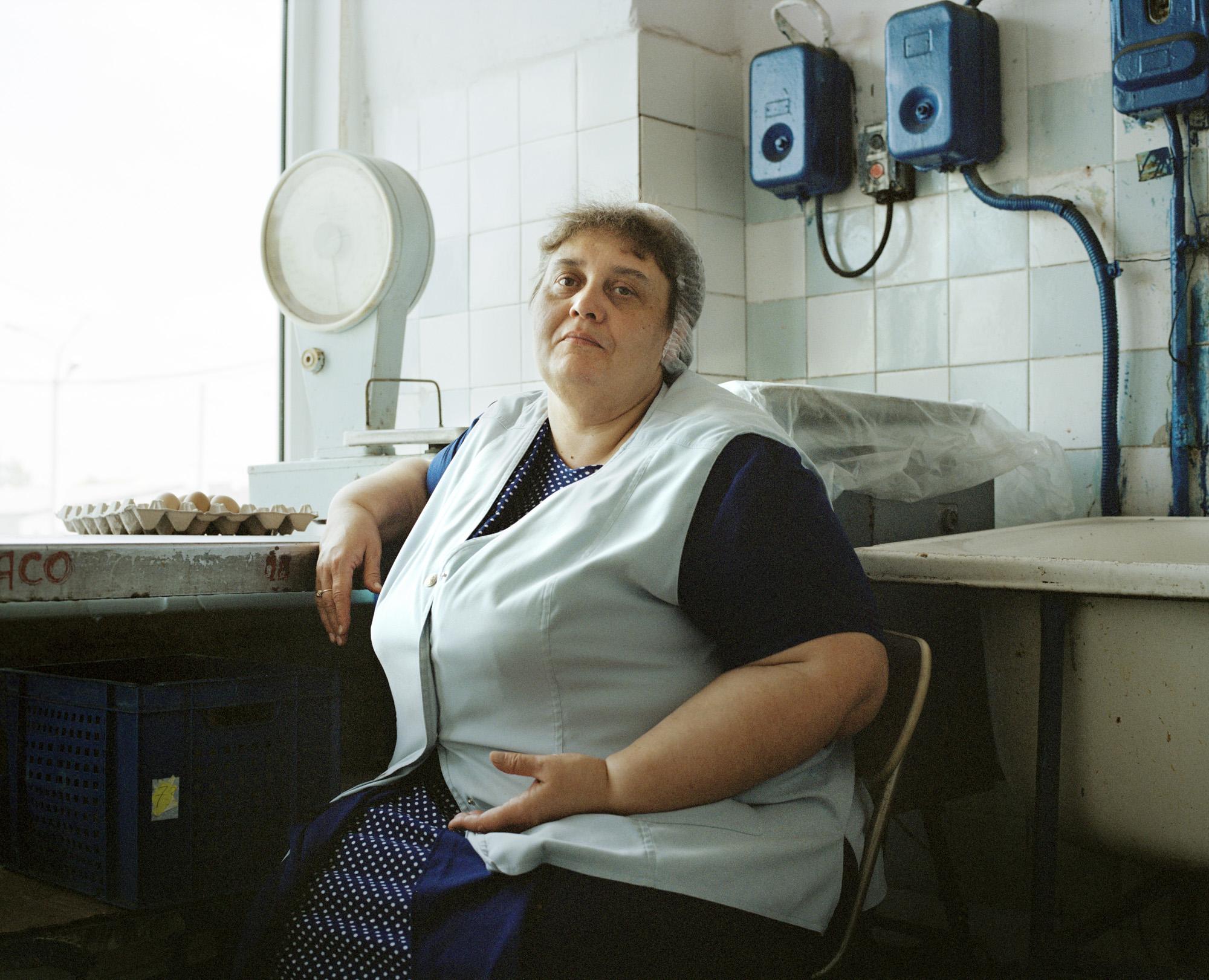 14-Liubov Proshkina, tram depot cook, Kaliningrad