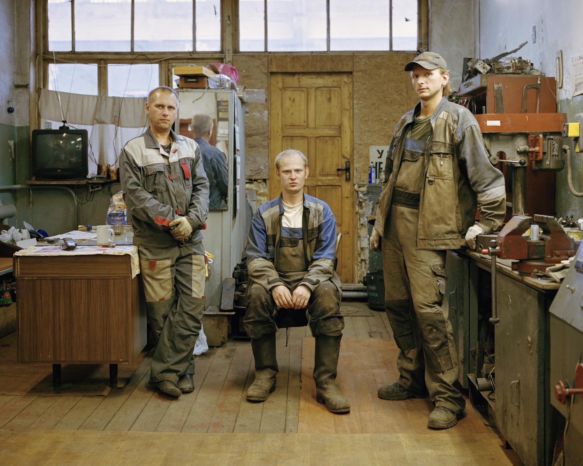 33-Young-engineers-of-tram-depo-Kaliningrad(Aleksej Guzov, Dmitrij Rimkus, Denis Kravcenko)