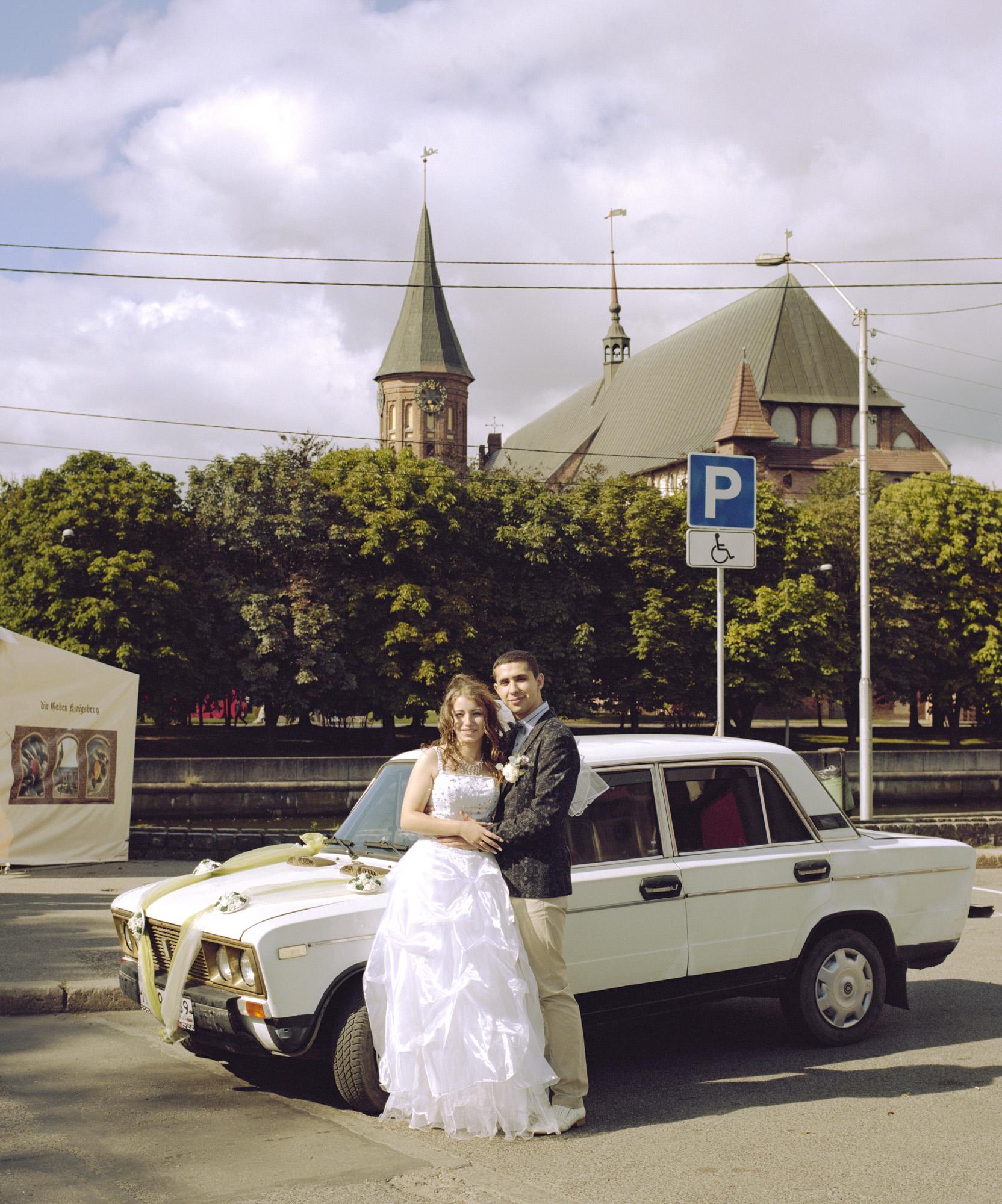 35-Viktoria & Sergey just married, Kaliningrad 2015